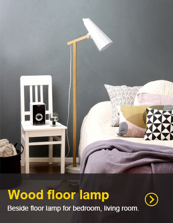 Beside floor lamp for bedroom, living room.