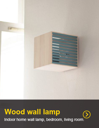 Indoor home wall lamp, bedroom, living room