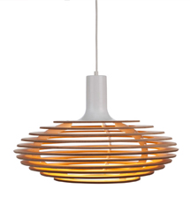 Dipper small pendant lamp Powder Coated Spun Aluminium