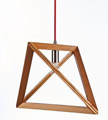 Modern style tiangular pendant lamp